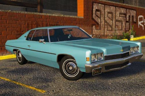 1972 Chevrolet Impala [Add-On | LODs | Extras]
