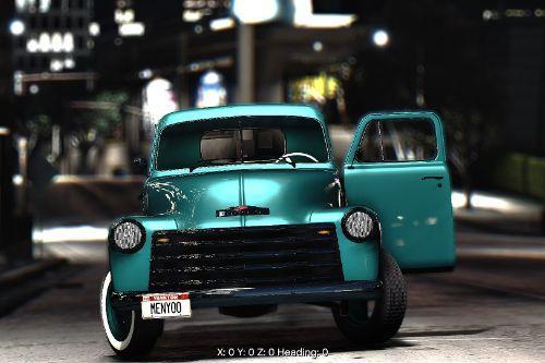Chevrolet pickup 1950 [Add-On]