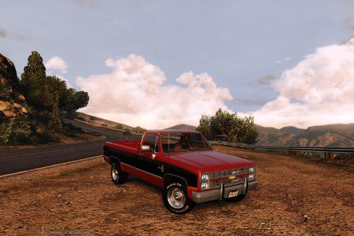 1986 Chevrolet Silverado [Add-On | LODs]