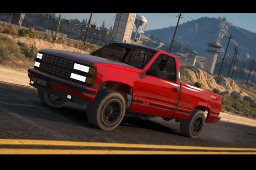 Chevrolet Silverado 454ss 1990 [Replace / FiveM / Unlocked]