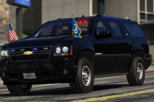 Chevrolet Suburban Secret Service [Add-On | Wipers]