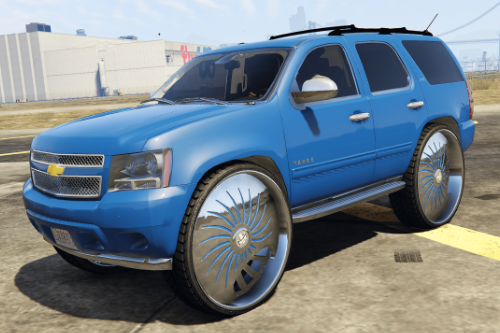 Chevrolet Tahoe on 34's [Add-On | Unlocked]