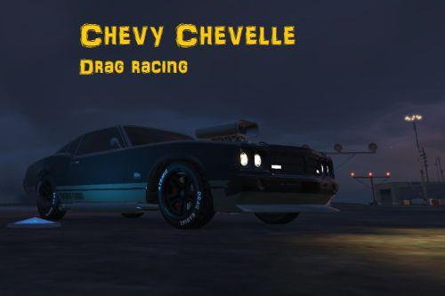 Chevy Chevelle drag racing