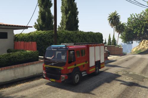 Volvo FE israel | משאית כיבוי אש- Truck fire department