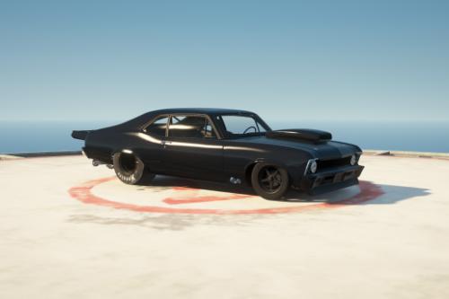 Chevy Nova (Murder Nova) realistic drag handling