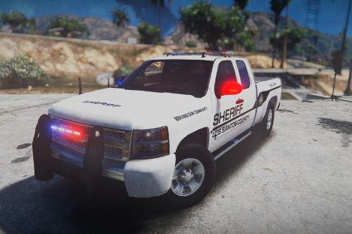 Chevy Silverado Law Enforcement [Template | Multi-Livery]