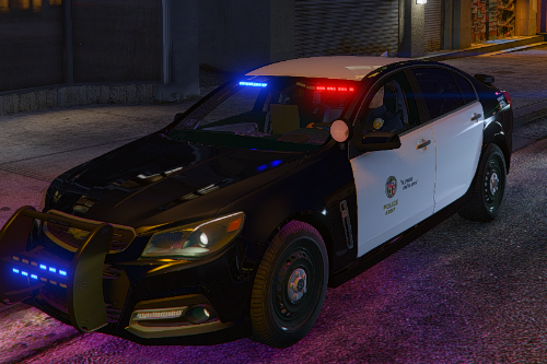 Chevy SS Pursuit Christmas Tree (Cali Tree) Los Angeles Police Dept. (LAPD) Edition |LODS|4K Skin