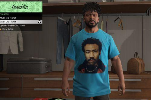 Childish Gambino T-Shirt for Franklin