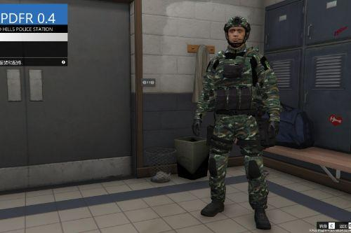 SWAT Special Chinese Police