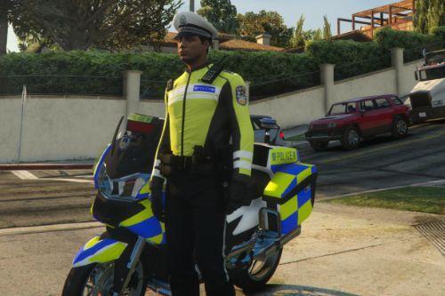 中国骑警制服 Chinese police - traffic police uniform