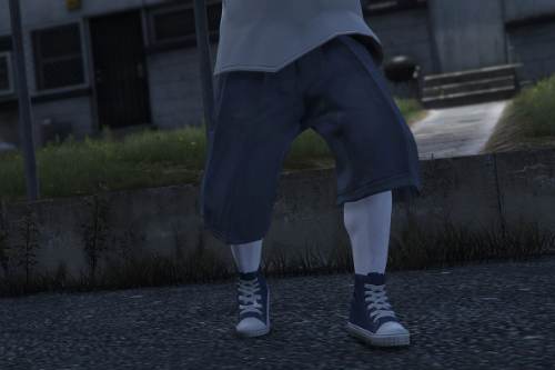 Cholo Style High Socks for MP Male [FiveM/SP]