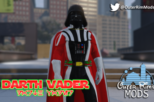 Christmas Darth Vader [Add-On]