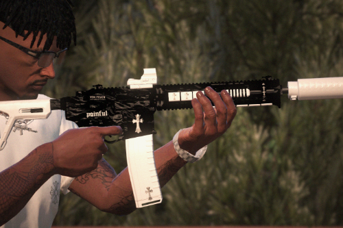 ''Chromed'' Carbine Rifle MK2