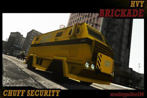Chuff Security Livery for HVY Brickade [Add-On | Livery]