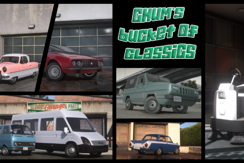 Chum's Bucket of Classics Pack [Add-On | Sounds | Tuning]