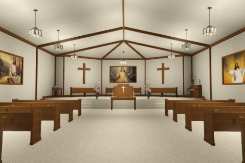 [MLO] Church Interior [Add-On SP / FiveM]