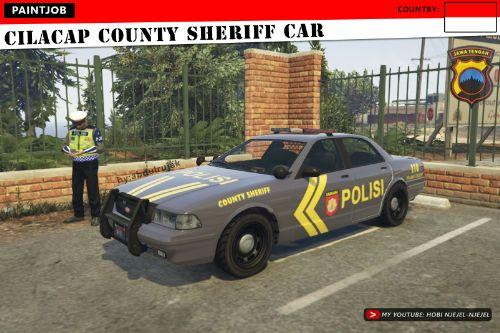 CILACAP County Sheriff Car (Indonesian)   Polisi Indonesia