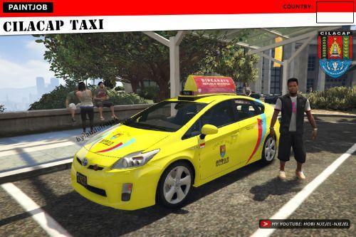 Cilacap Taxi Toyota Prius (Indonesian)