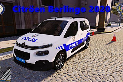 Cıtröen Berlingo 2020 Polis Aracı