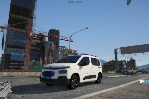 Citroen Berlingo  Civilian Police Turkish 2020