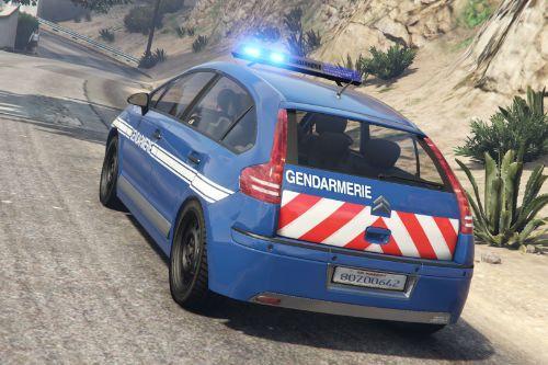 Citroën C4 Gendarmerie