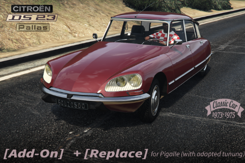CITROËN DS 23 [Add-On / Replace | LODS]