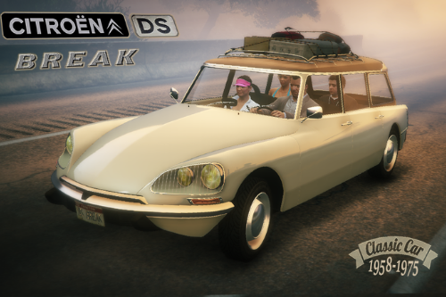 CITROËN DS Break [Add-On / Replace | LODS]