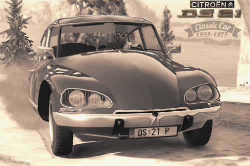 Citroen DS21 [Add-On] and [Replace]