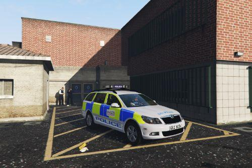 City of London Police Skoda Octavia [ELS]