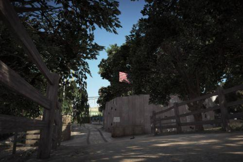Civil Border Patrol Compound [FiveM/Menyoo]