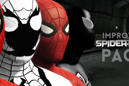 Improved Spider-Man (Homecoming, Civil War, Symbiote & Anti-Venom) [Add-On Ped / Replace]