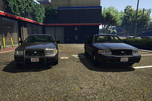 Civilian/Retired/Fake Police Crown Victoria