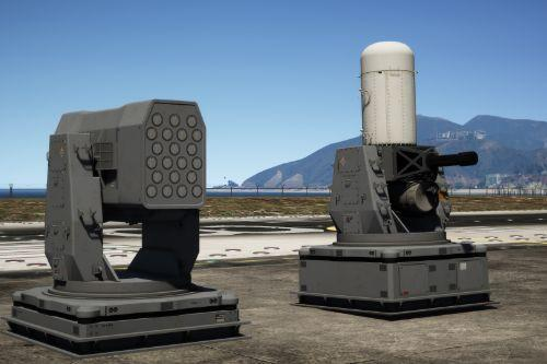 CIWS Anti Air Defense