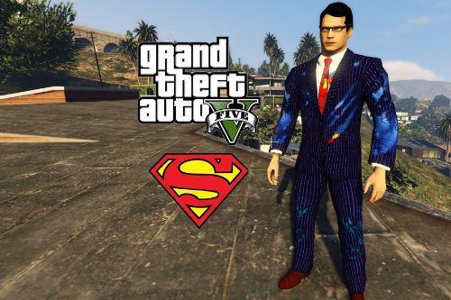 Clark Kent (Superman) Battle Damaged - Retexture