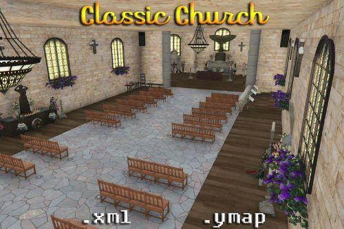 Classic and Wedding Church [Menyoo / FiveM]