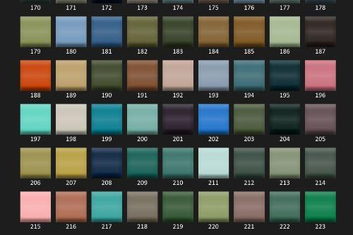 40604c classic colors