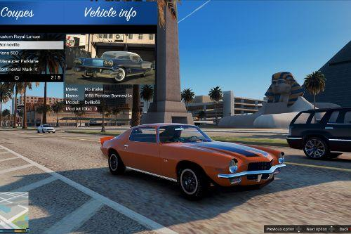 Classic Cars Packs Vol-1 & Vol-2 - Image Thumbnails