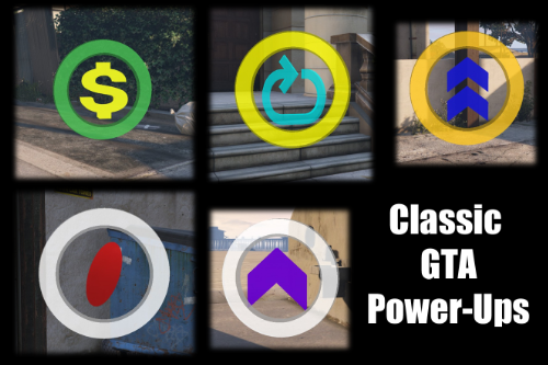 Classic GTA Power-Ups