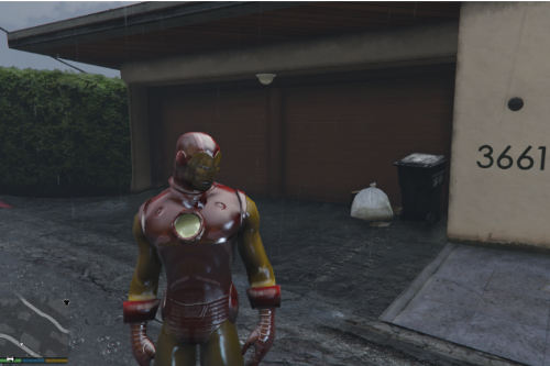 Classic Iron Man [Add-On Ped]