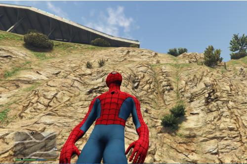Classic Spiderman 5[Addon Ped]