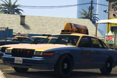 Vapid Stanier Taxi Car