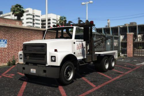 Clean Vanilla Tow Truck [Replace] [ALL LODS] (Lore Friendly)