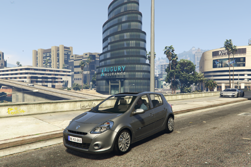 Renault Clio 3 2010 [Add-on / FiveM]