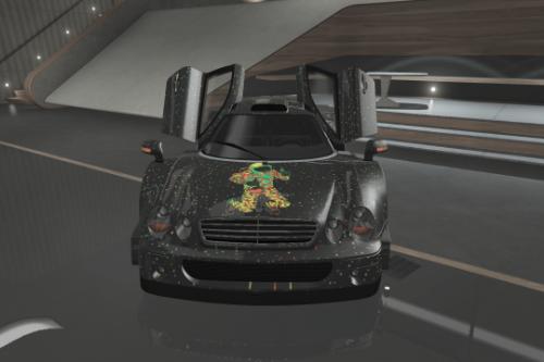 Space Theme Mercedes CLK GTR