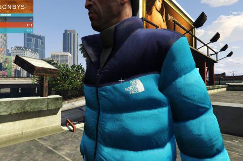 Clothes Pack for Trevor, Haglofs, The North Face, Helly Hansen, Patagonia, Vans
