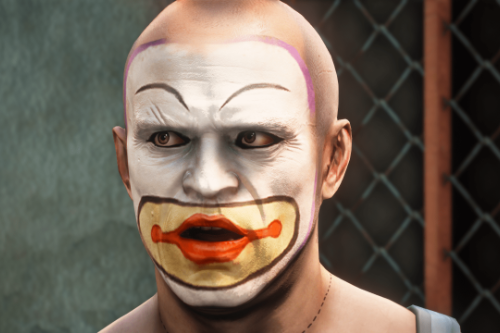 Clown Trevor Head & Outfit