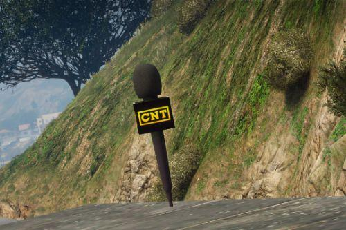 CNT News Microphone (Replace)