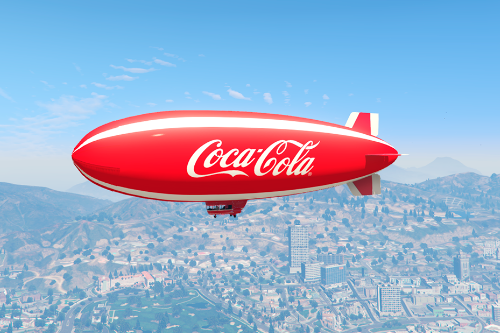 Coca-Cola Blimp