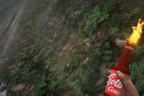 CocaCola molotov