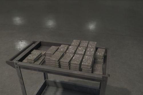 Cocaine Brick trolley